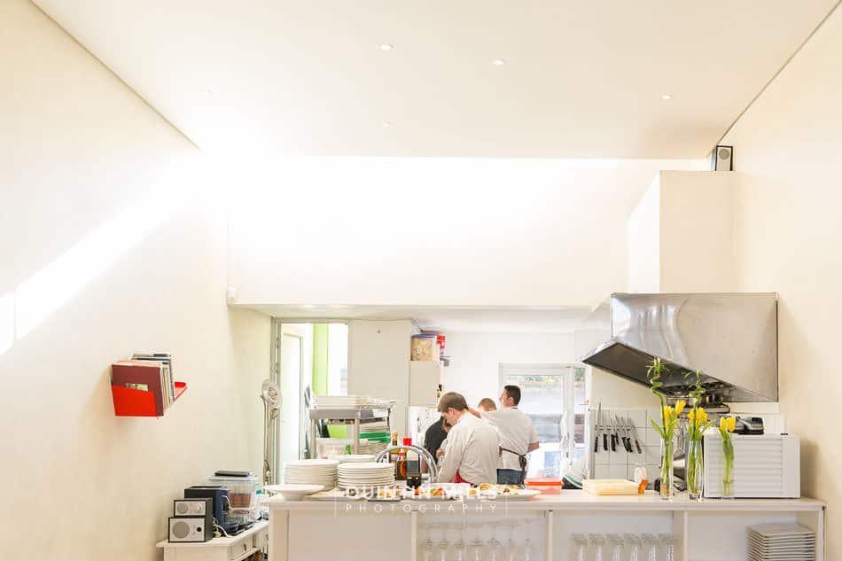 Cube tasting kitchen restaurant and interiors photographer