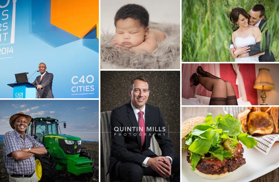 Commercial, portrait, food, real estate, newborn, wedding photographer quintin mills