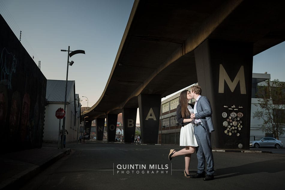 Couple photographer in Johannesburg, Sandton and Pretoria by Quintin Mills