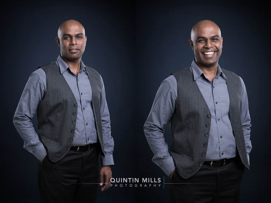 corporate portrait photography services by Quintin Mills