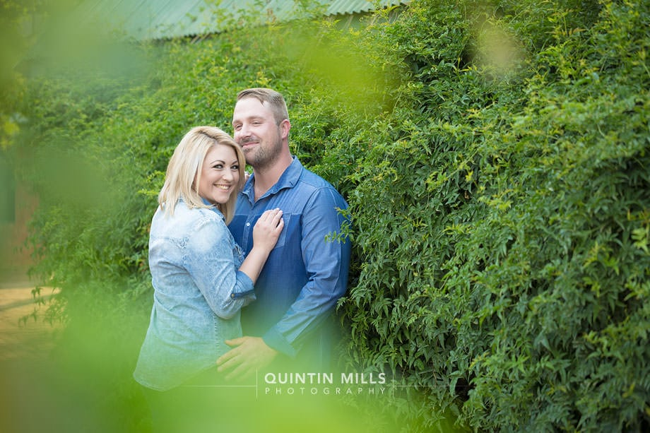 Rene and Bradley at Rosemary Hill, Pretoria. Couple photographer