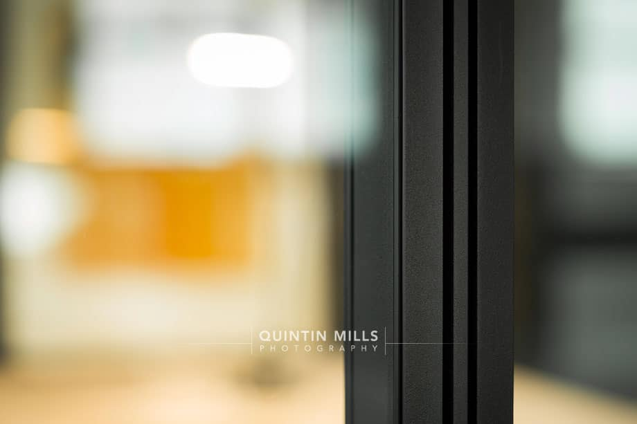 HQ and CO industrial and corporate interiors photography by Quintin Mills
