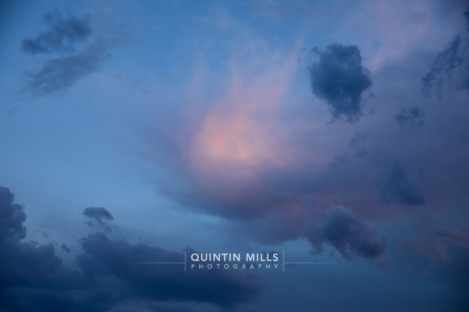 Cloudscape photography project by Quintin Mills